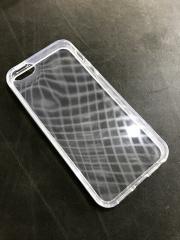 Чехол из твёрдого прозрачного силикона для iPhone SE / 5s / 5