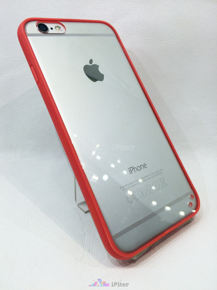Прозрачная накладка для iPhone 6 и бампер