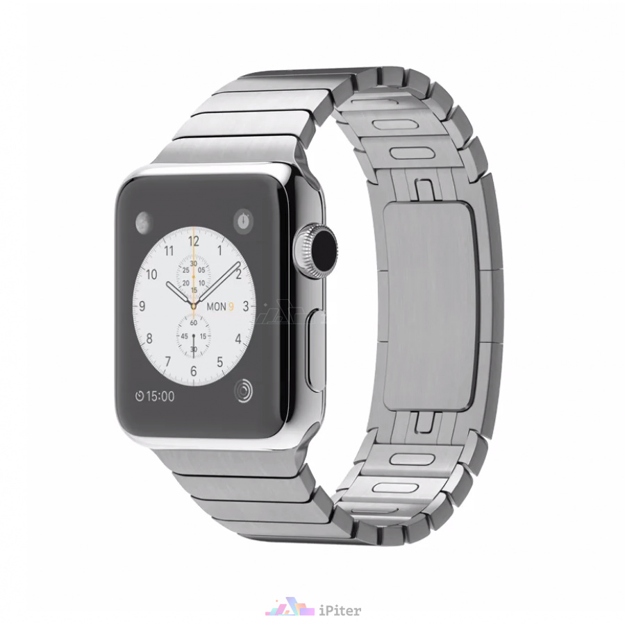 Фото Apple Watch Series 1, 38 мм, Stainless Steel Case with Link Bracelet