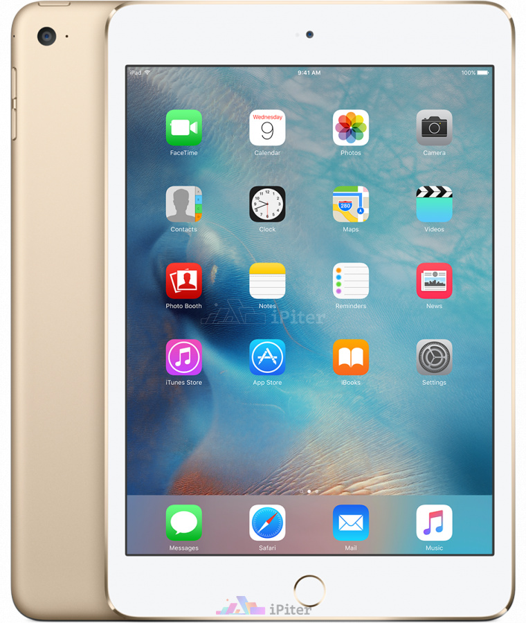 Фото Купить Apple iPad Mini 4 32Gb Wi-Fi + Cellular Gold (MNWG2RU/A)