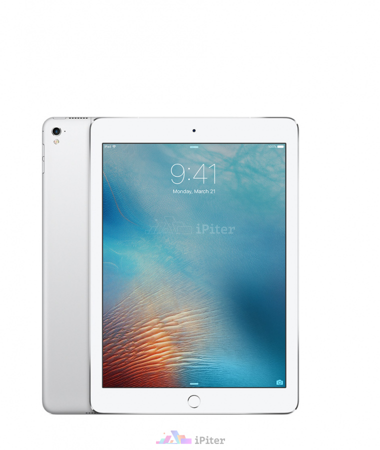 Фото Купить Apple iPad Pro 9,7'' 128gb Wi-Fi + Cellular Silver (MLQ42RU/A)