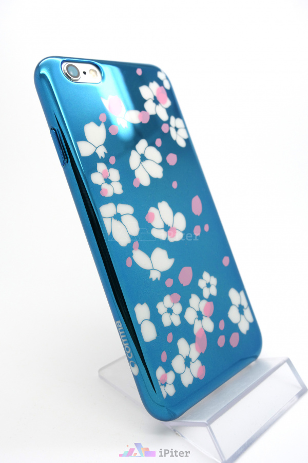 Фото Чехол Comma Bloom Case на iPhone 6s / 6, Синий