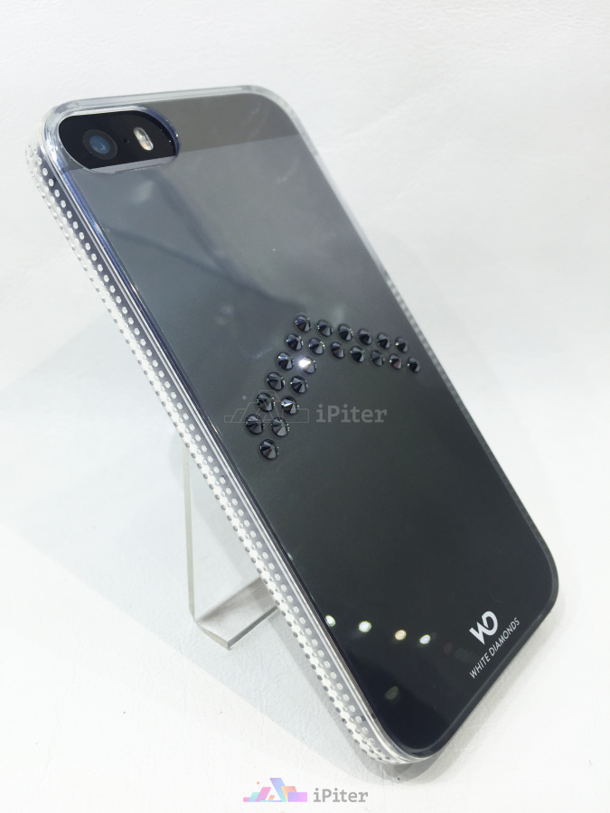 Фото White Diamonds Arrow Black чехол для iPhone SE / 5s / 5, Прозрачный