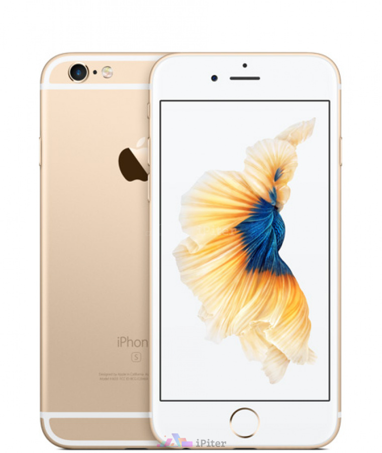 Фото Купить Apple iPhone 6s 128Gb<br> Gold (MKQV2RU/A)