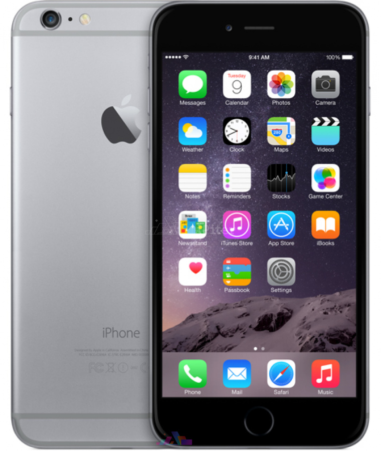 Фото Купить Apple iPhone 6 Plus 16Gb<br> Space Gray