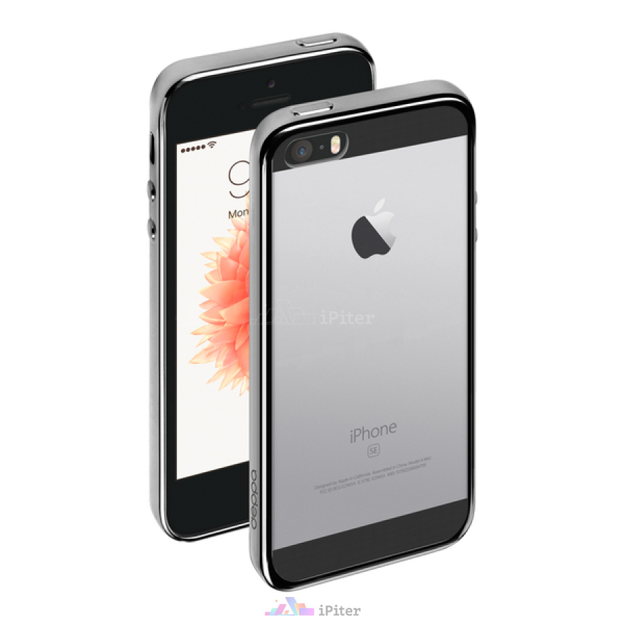 Фото Чехол Gel Plus Case для Apple iPhone 5/5S/SE, Space Gray
