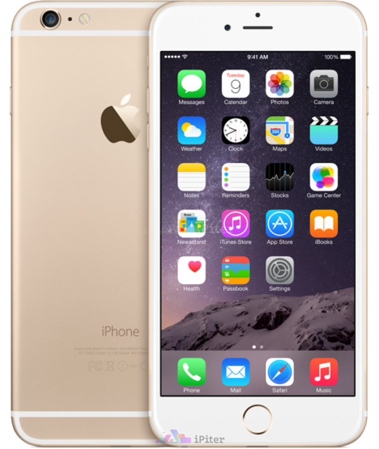 Фото Apple iPhone 6 Plus 16Gb<br> Gold, Gold