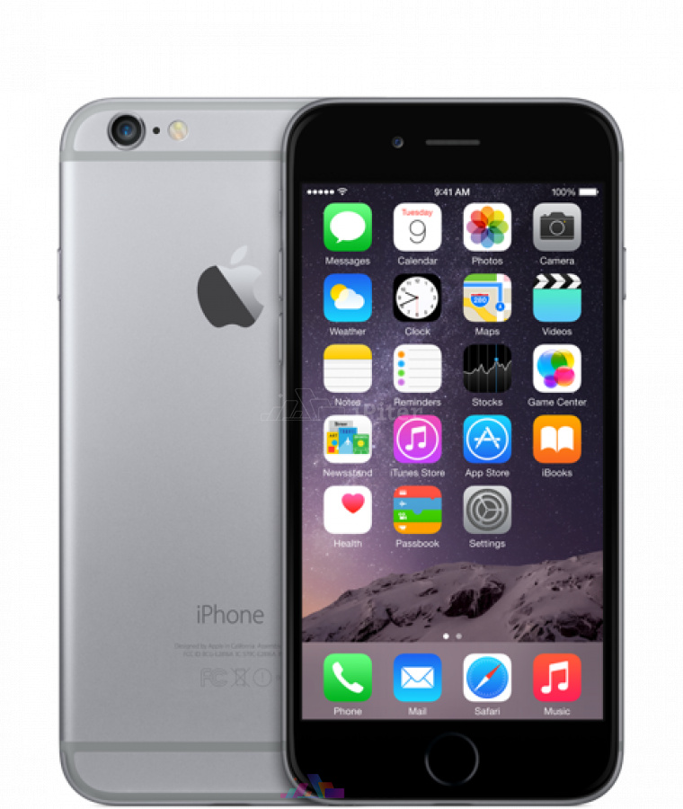 Фото Купить Apple iPhone 6 32Gb<br> Space Gray (MQ3D2RU/A)