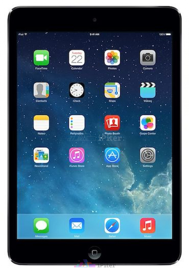 Фото Apple iPad Mini 2 32Gb Wi-Fi + Cellular Space Gray (ME820RU/A)
