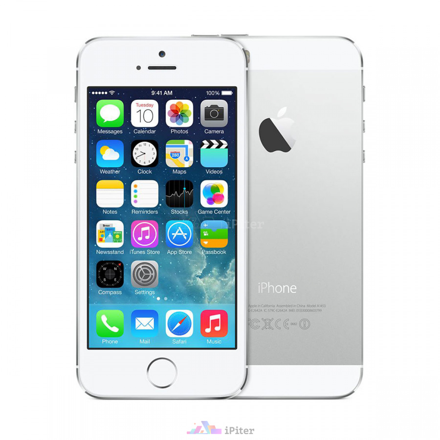 Фото Apple iPhone 5s 16Gb Silver<br> A1530 (FF353RU/A)