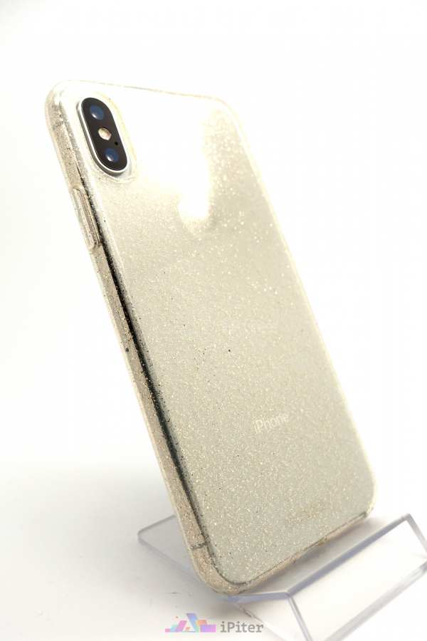 Фото Чехол Deppa Chic Case для iPhone X, Золотой
