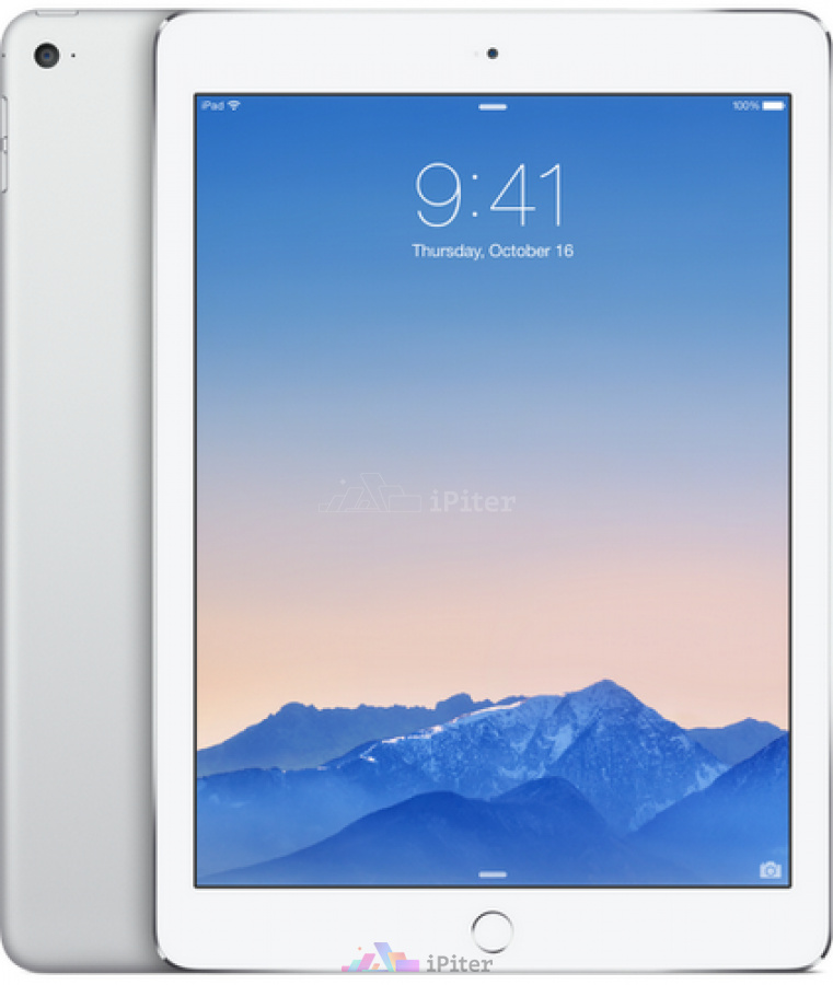 Фото Купить Apple iPad Air 2 128gb Wi-Fi + Cellular Silver