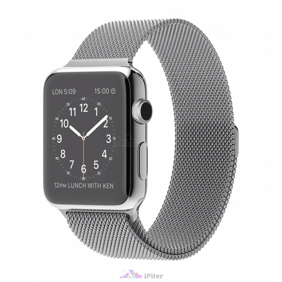 Фото Купить Apple Watch Series 1, 42 мм, Stainless Steel Case with Milanese Loop