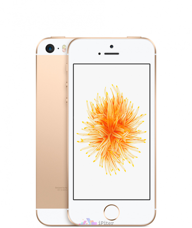 Фото Купить Apple iPhone SE 128Gb<br> Gold (MP882RU/A)