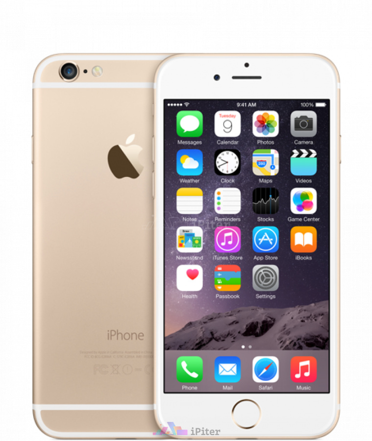 Фото Купить Apple iPhone 6 32Gb<br> Gold (MQ3E2)