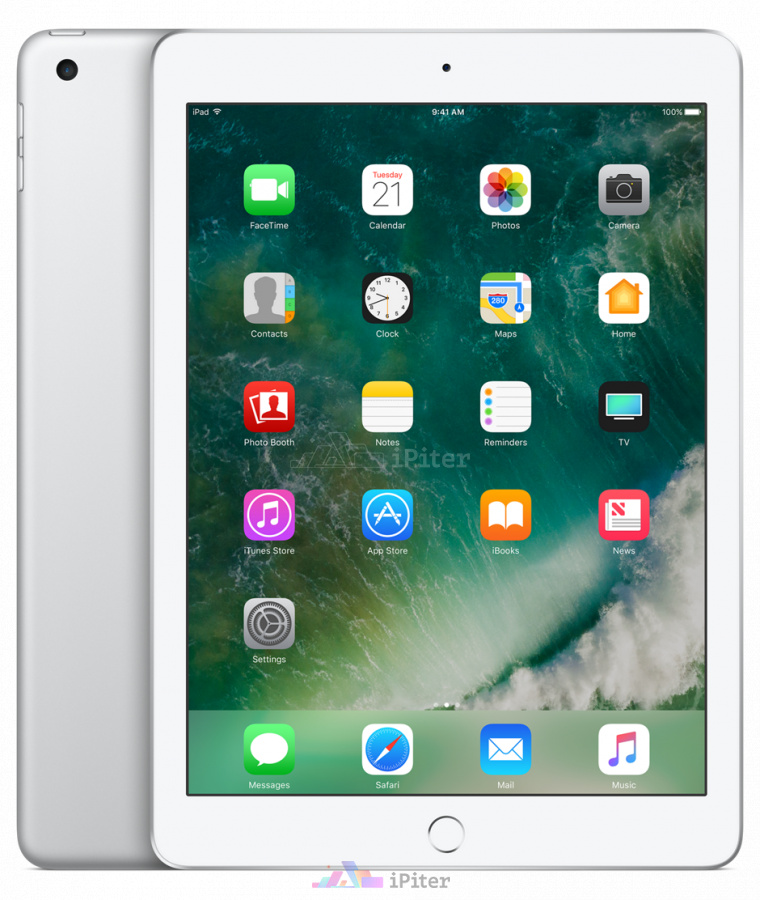 Фото Купить Apple iPad 2017 Wi-Fi 32gb Silver MP2G2