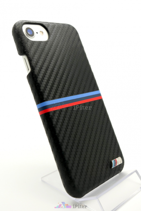 Фото Чехол BMW M Collection Carbon для iPhone 8 / 7, Черный
