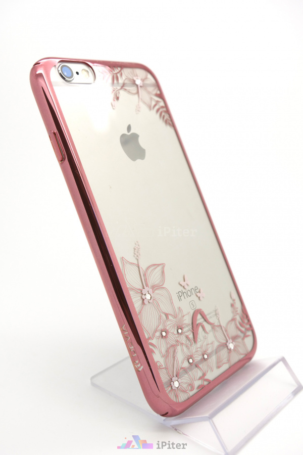 Фото Чехол Devia Crystal Engaging для iPhone 6s / 6, Rose Gold