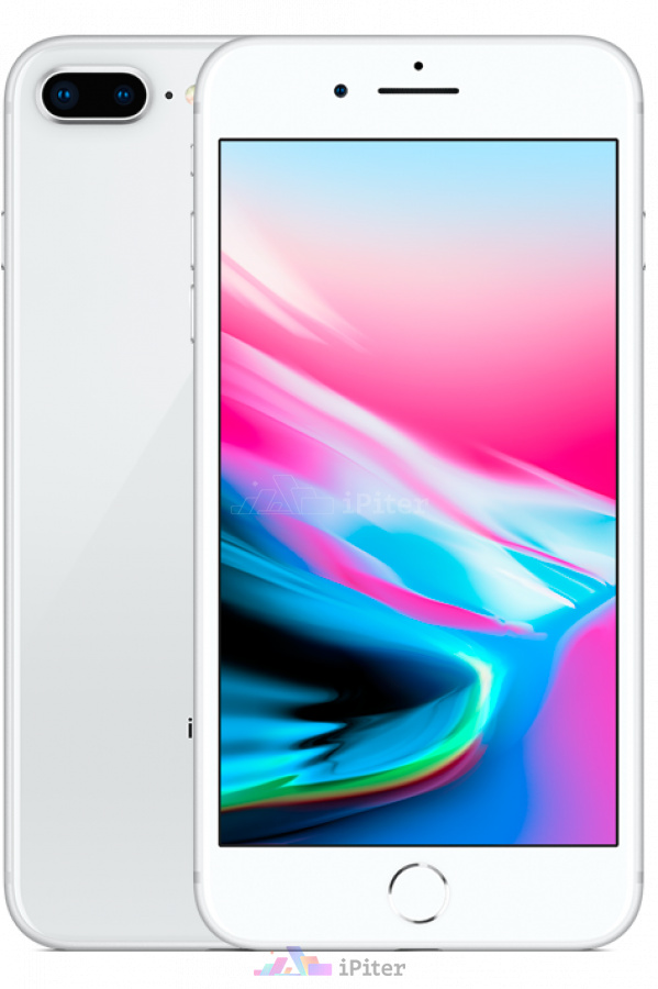 Фото Купить Apple iPhone 8 Plus 256Gb<br> Silver (MQ8Q2)