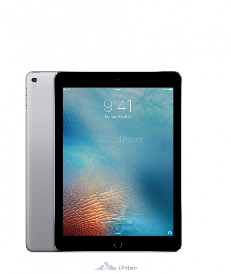 Фото Купить Apple iPad Pro 9,7'' 128gb Wi-Fi + Cellular Space Gray (MLQ32RU/A)