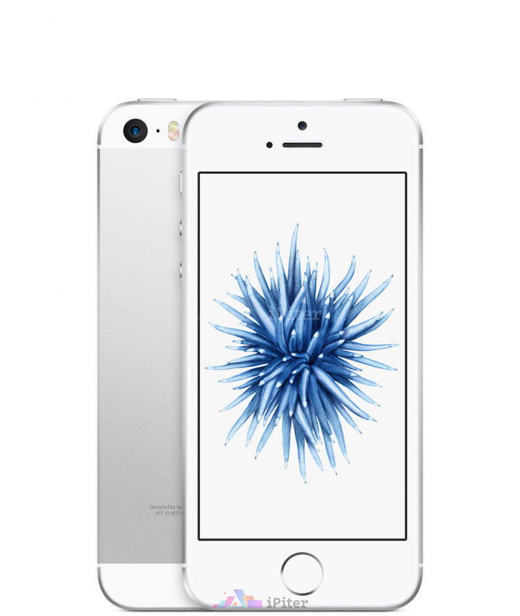 Фото Купить Apple iPhone SE 64Gb<br> Silver (MLM72RU/A)