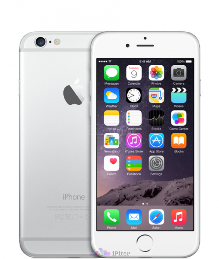 Фото Купить Apple iPhone 6 128Gb<br> Silver (MG4C2RU/A)