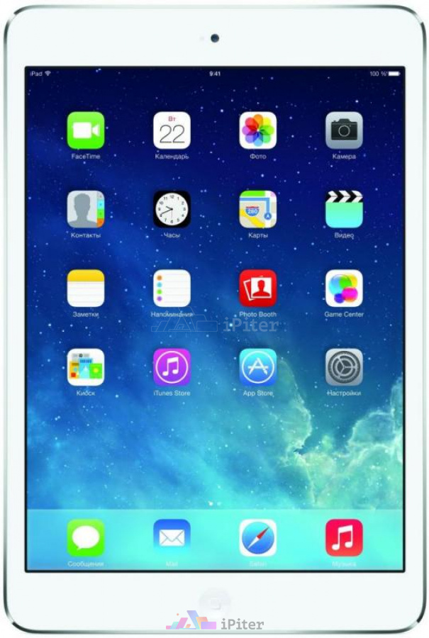 Фото Купить Apple iPad Mini 2 32Gb Wi-Fi Silver (ME280RU/A)