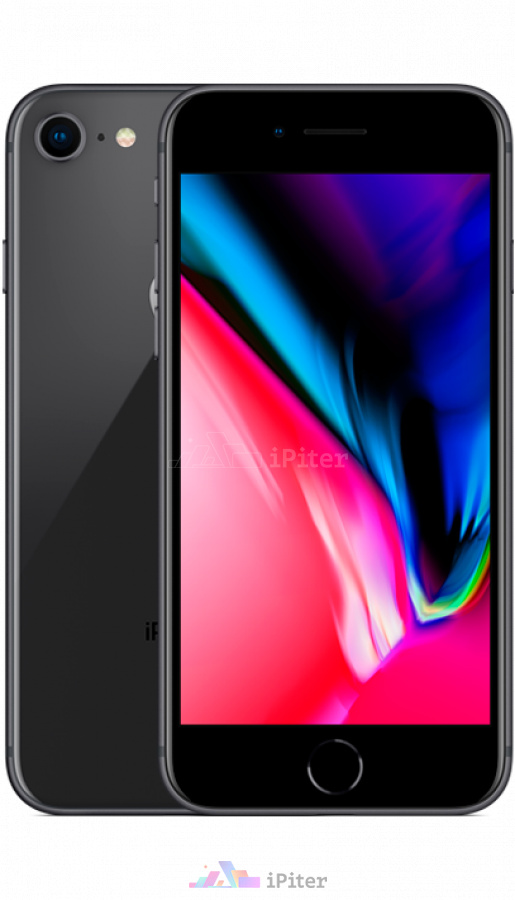 Фото Купить Apple iPhone 8 256Gb<br> Space Gray (MQ7C2)