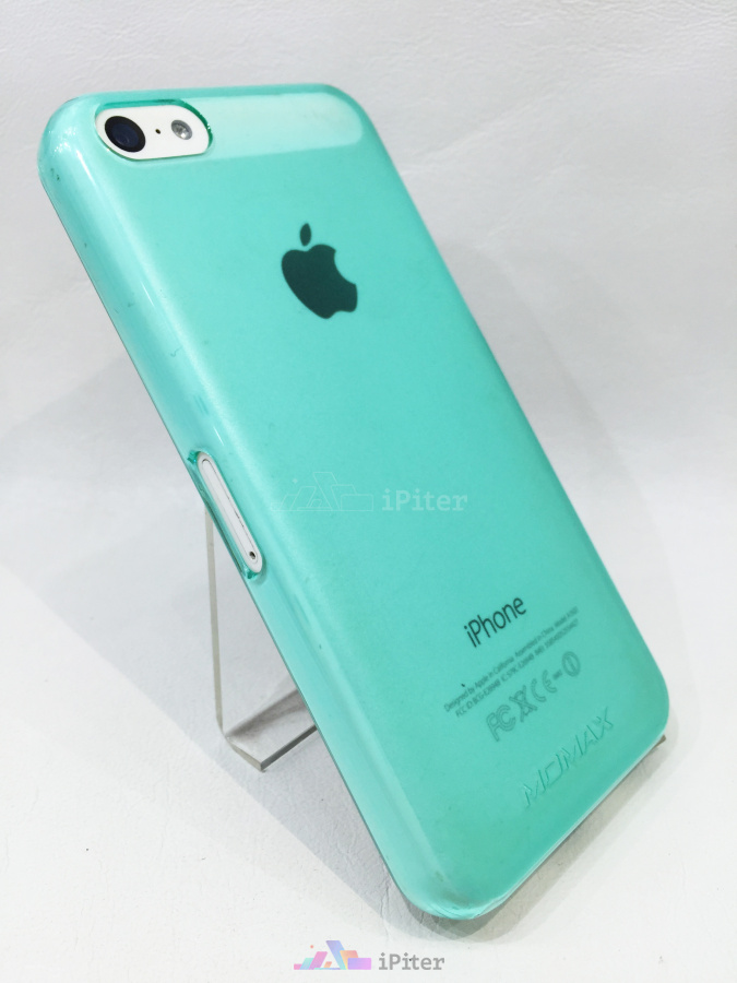 Фото Накладка для iPhone 5C Momax Clear Breeze Case, Голубой