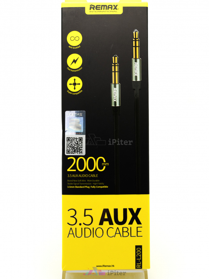 Фото Купить AUX кабель Remax 3.5 Audio Cable RL-L200