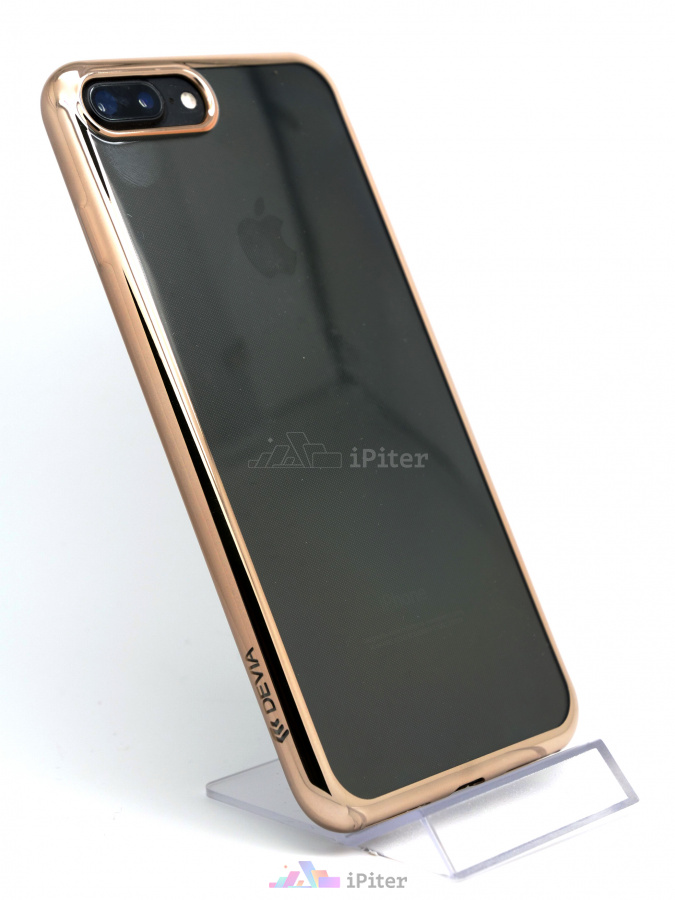 Фото Чехол Devia Glitter Soft Case для iPhone 8 Plus / 7 Plus, Gold