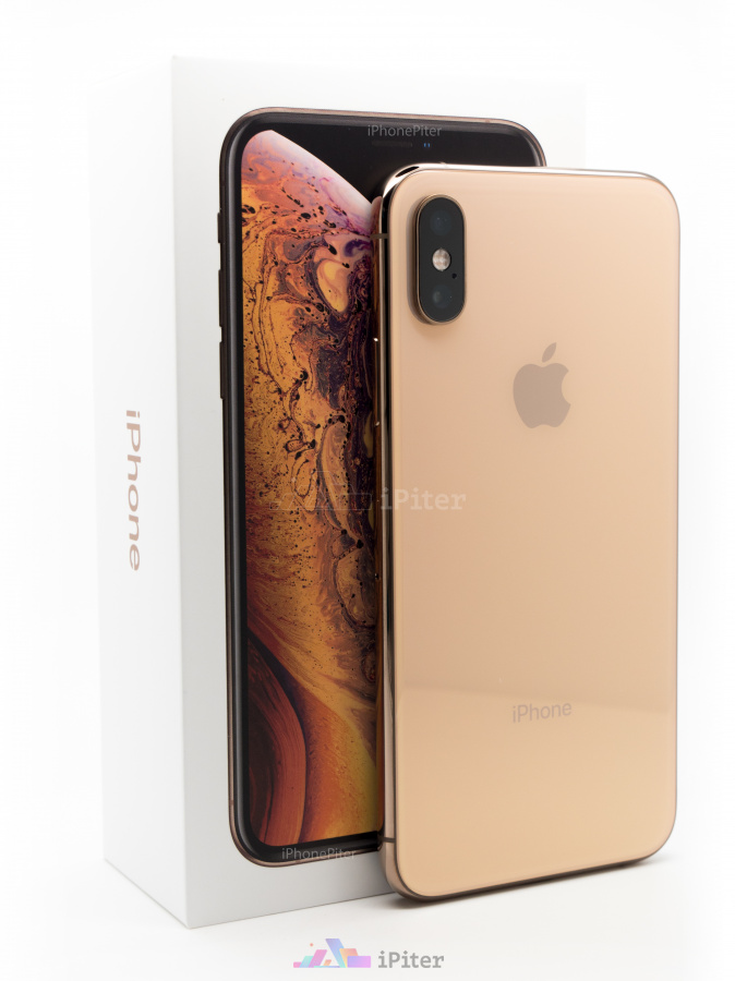 Фото Купить Apple iPhone XS 64Gb<br> Gold (MT9G2)