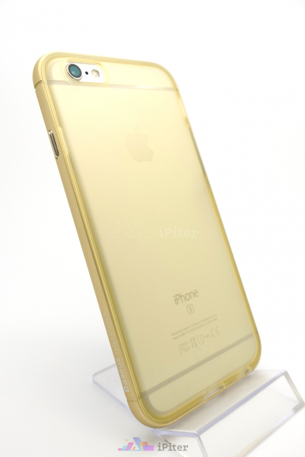 Фото Чехол Baseus Golden Case для iPhone 6s / 6, Золотой