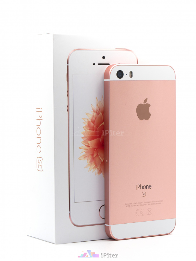 Фото Купить Apple iPhone SE 16Gb<br> Rose Gold (MLXN2RU/A)