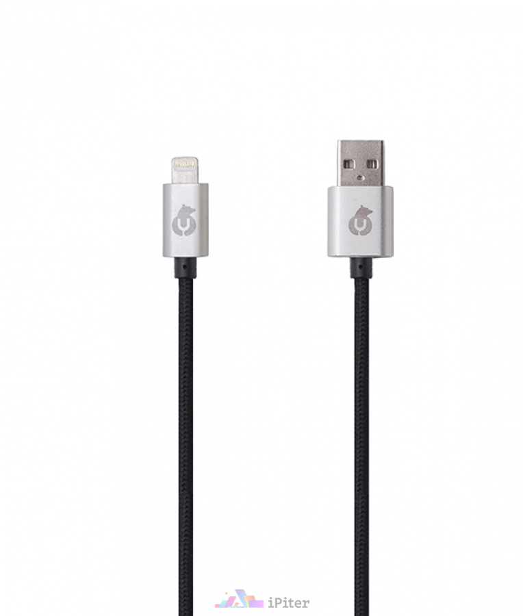 Фото UBear MFI LIGHTNING USB CABLE, Чёрный