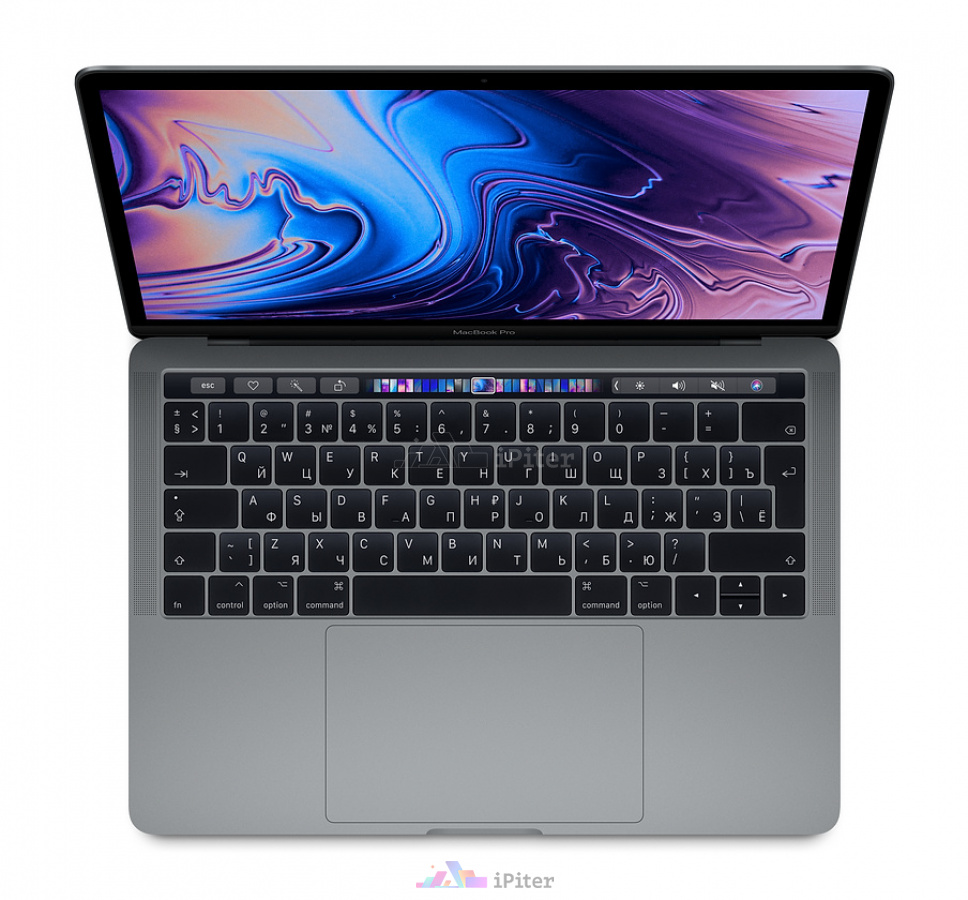 Фото Купить Apple MacBook Pro 13 with Touch Bar Mid 2019 i5 8Gb 256Gb Space Gray (MV962RU/A) по низкой цене в СПб