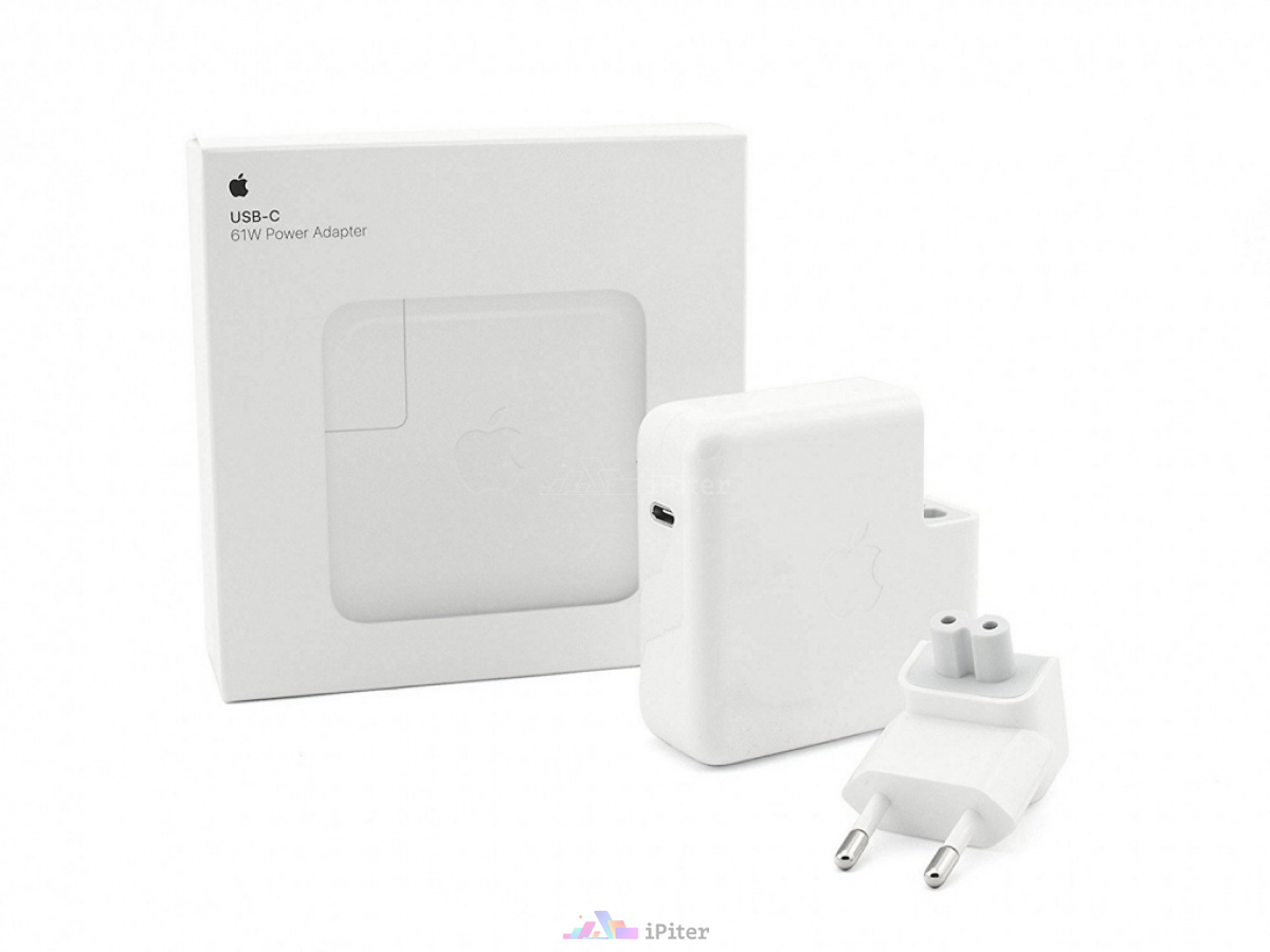 Фото Купить MacBook Apple 61W USB-C Power Adapter (MNF72Z/A)
