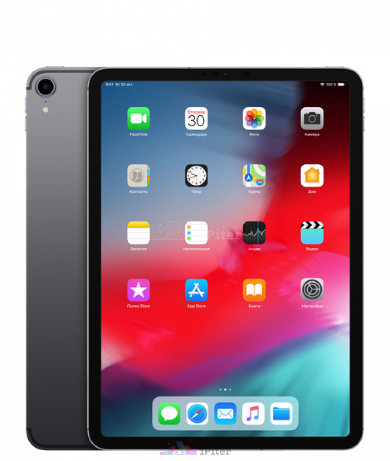 Фото Купить iPad Pro 2018 11 дюймов Wi-Fi + Cellular 512Gb Space Gray (MU1F2)