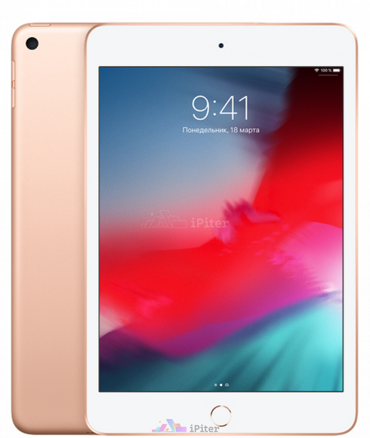 Фото Купить Apple iPad Mini 2019 Wi-Fi 64Gb Gold (MUQY2)