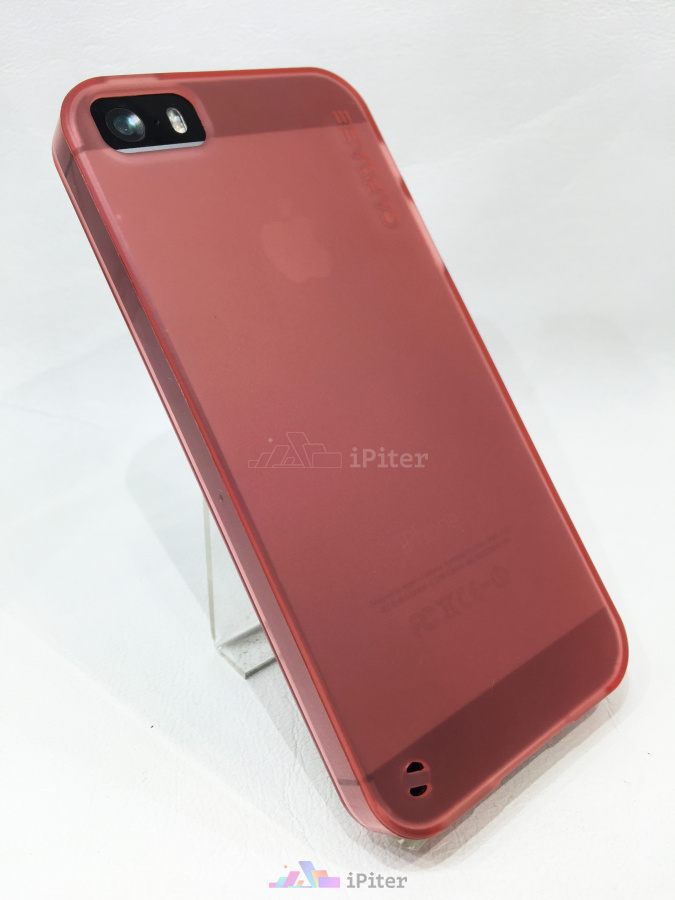 Фото Capdase Soft Jacket на iPhone SE / 5s / 5, Красный