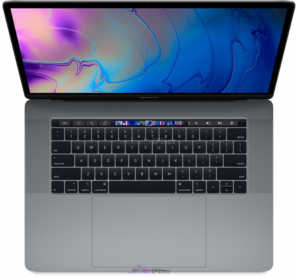 Фото Купить Apple MacBook Pro 15 with Touch Bar Mid 2018 i7 8750H 2.2GHz 16Gb 256Gb Space Gray (MR932LL/A) по низкой цене в СПб