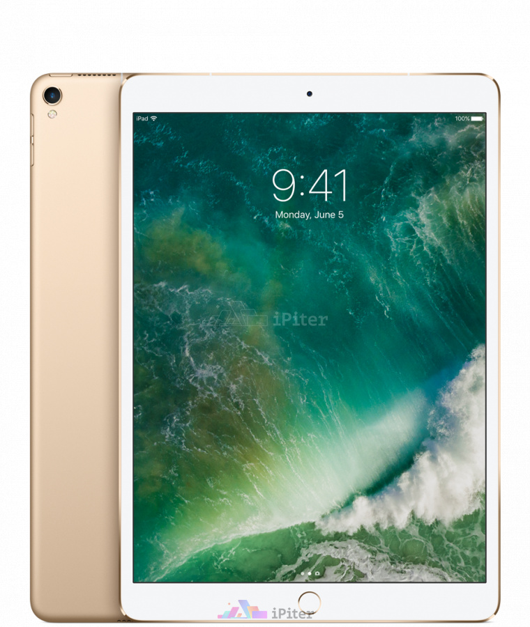 Фото Купить Apple iPad Pro 10,5'' 256gb Wi-Fi + Cellular Gold (MPHJ2)