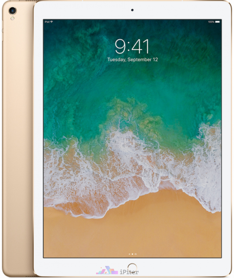 Фото Купить Apple iPad Pro 12,9'' 256gb Wi-Fi Gold (MP6J2)