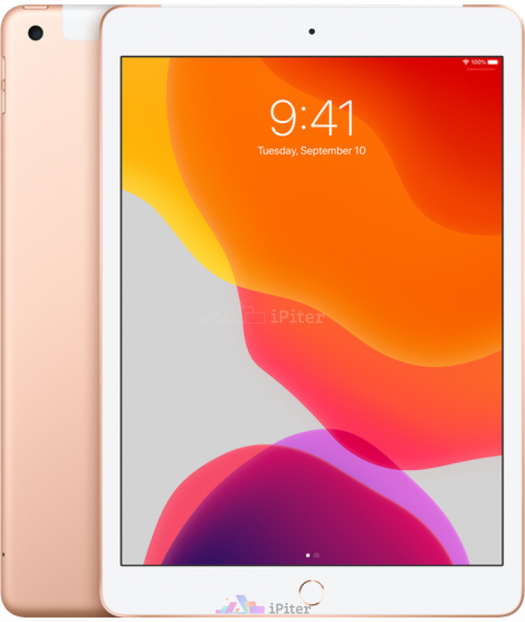 Фото Купить Apple iPad 2019 10,2 дюйма Wi-Fi + Cellular 32gb Gold (MW6D2)