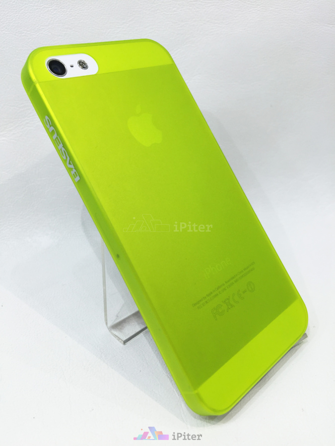 Фото Baseus Organdy Case на iPhone SE / 5s / 5, Лайм