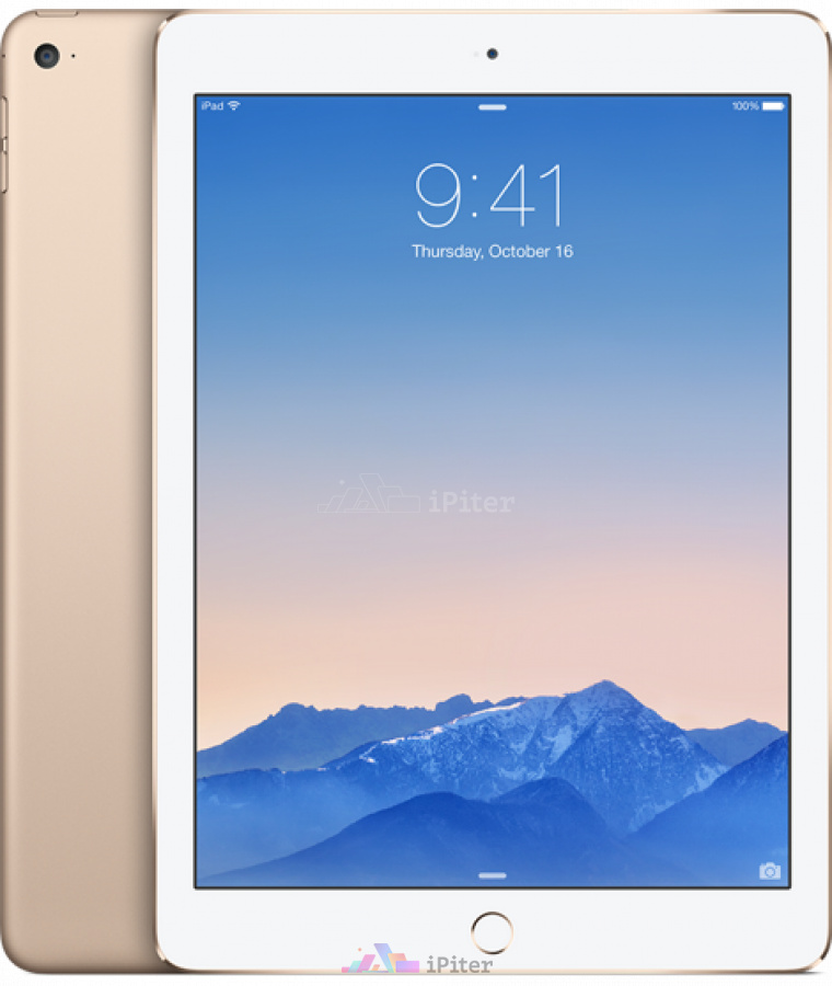 Фото Купить Apple iPad Air 2 32gb Wi-Fi + Cellular Gold (MNVR2RU/A)