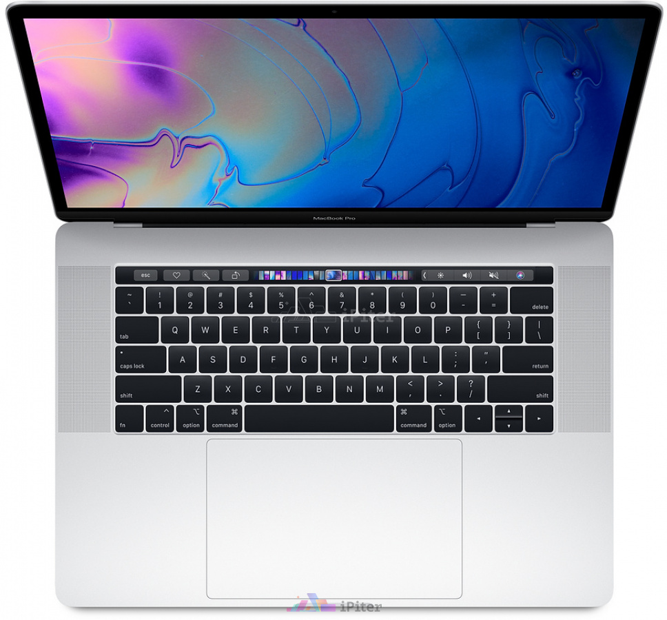 Фото Купить Apple MacBook Pro 15 with Touch Bar Mid 2018 i7 8750H 2.2GHz 16Gb 256Gb Silver (MR962RU/A)