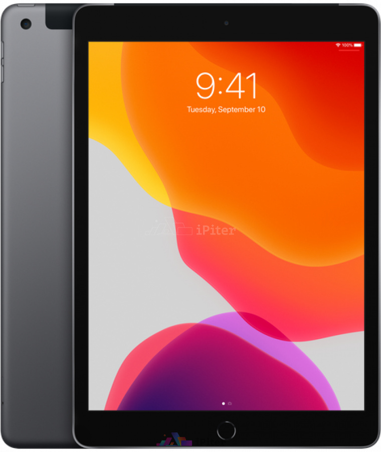 Фото Купить Apple iPad 2019 10,2 дюйма Wi-Fi + Cellular 128gb Space Gray (MW6E2)