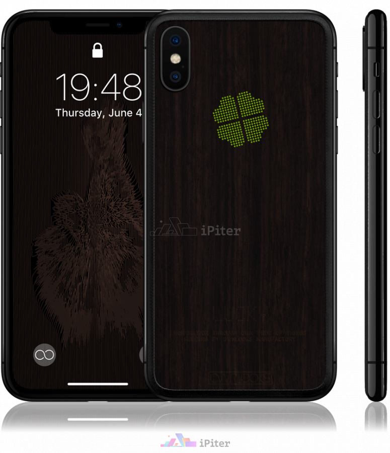 Фото Купить iPhone X OWNLOOKS Timber Collection X - Lucky X