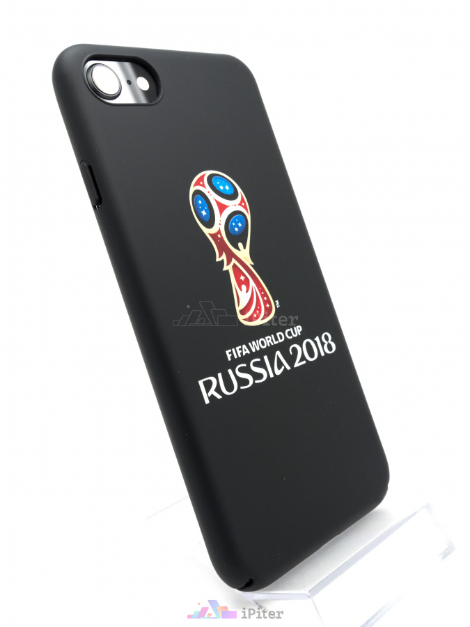 Фото Чехол Deppa FIFA World Cup 2018 для iPhone 8 / 7, Чёрный
